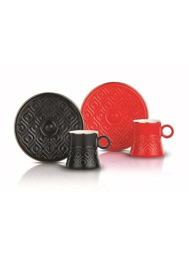 Schafer 12 Prç. Elite Kahve Fincan Takımı-ASO02-76097 Renkli